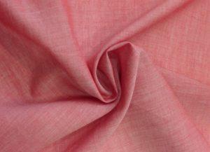 Tecido de algodão mescla rosa, referência 517