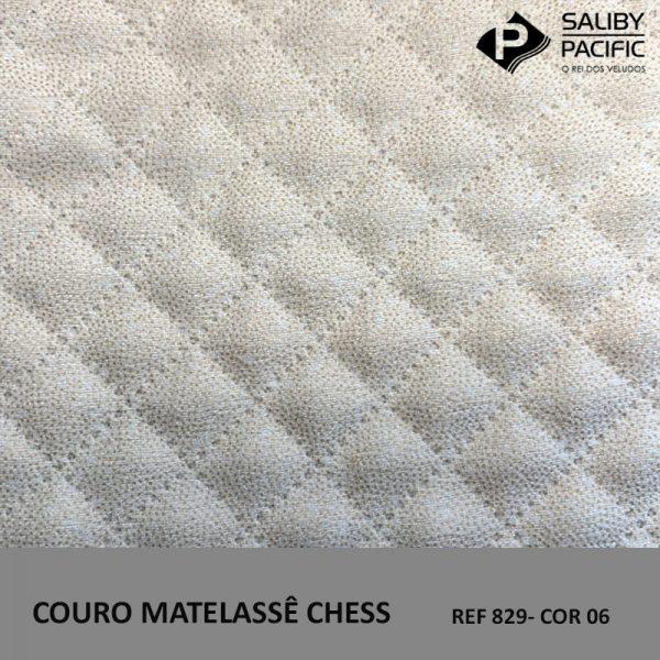 couro matelassê chess ref 21 cor 06
