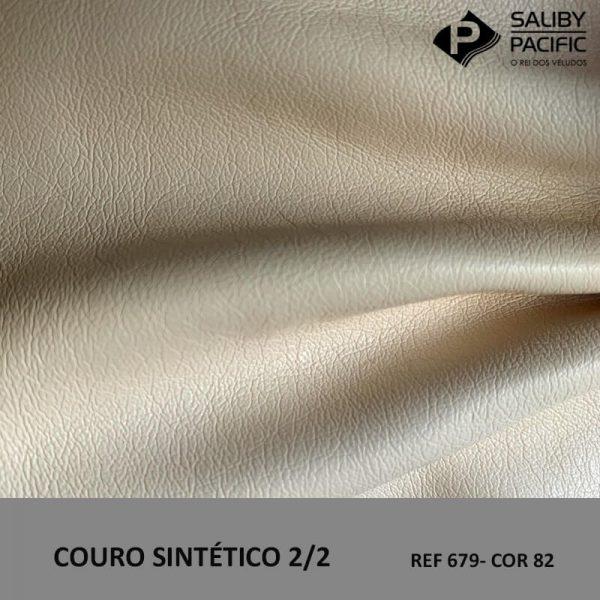 couro sintético 2/2 cor 82