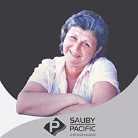 imagem da Fundadora Iracema Saliby, atendente virtual da loja de tecidos Saliby Pacific - Rei dos Veludos otimizada para Whatsapp