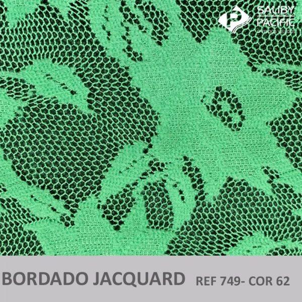 Imagem bordado Jacquard brush REF 749 cor 62