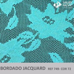 Imagem bordado Jacquard brush REF 749 cor 72