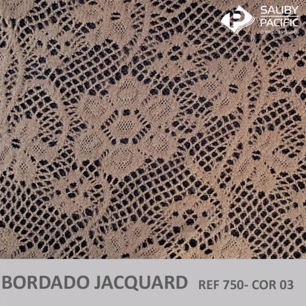 Imagem bordado jacquard brush REF 750 cor 03