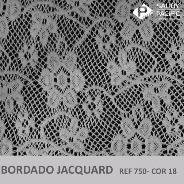 Imagem bordado jacquard brush REF 750 cor 18