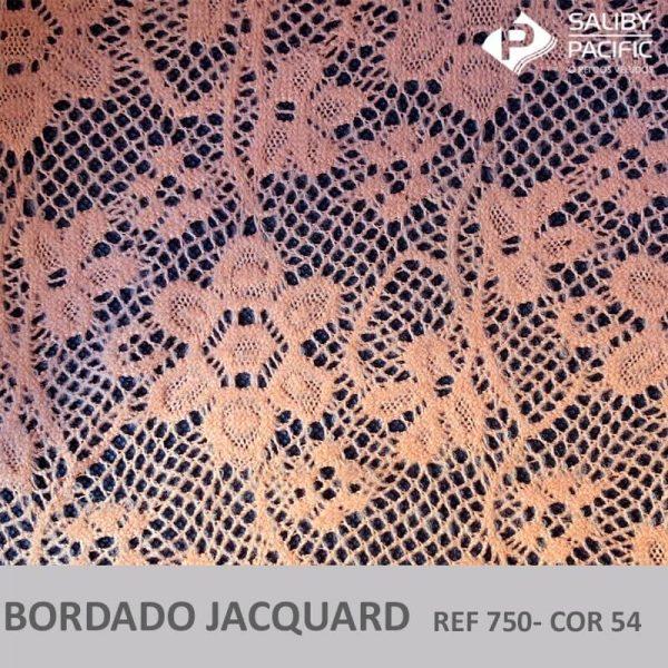 Imagem bordado jacquard brush REF 750 cor 54