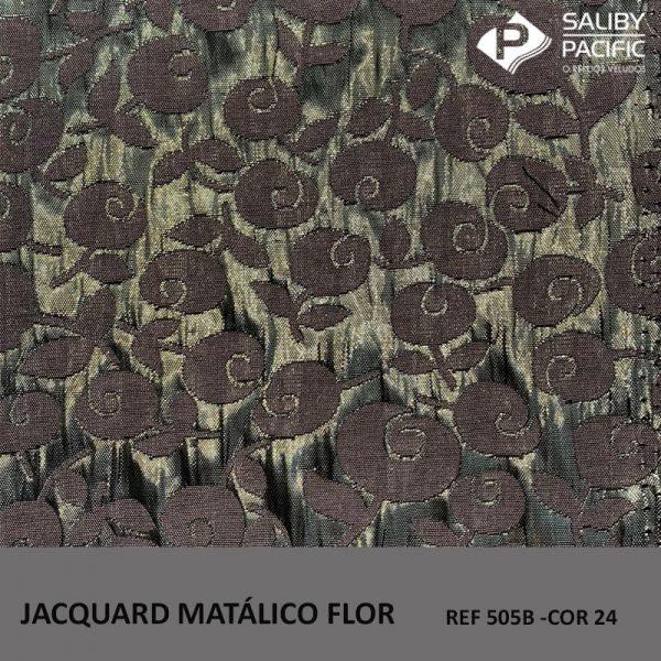 imagem jacquard metalic flow ref 505 b na cor 24