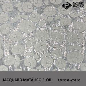 imagem jacquard metalic flow ref 505 b na cor 50