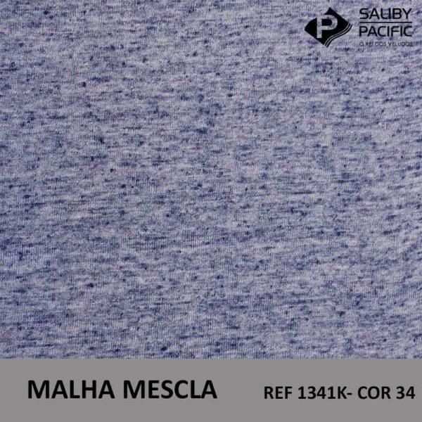 imagem malha mescla ref 1341 k cor 34