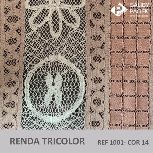 RENDA TRI COLORS REF 1001 COR 14