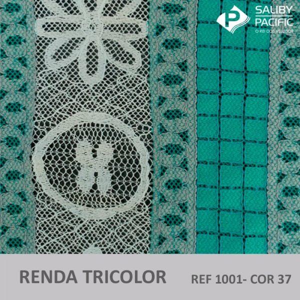 RENDA TRI COLORS REF 1001 COR 37