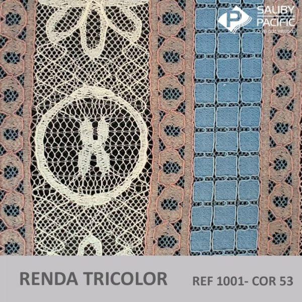 RENDA TRI COLORS REF 1001 COR 53