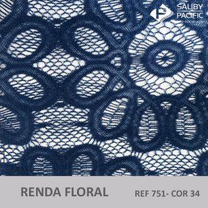 Imagem renda floral REF 751 cor 34