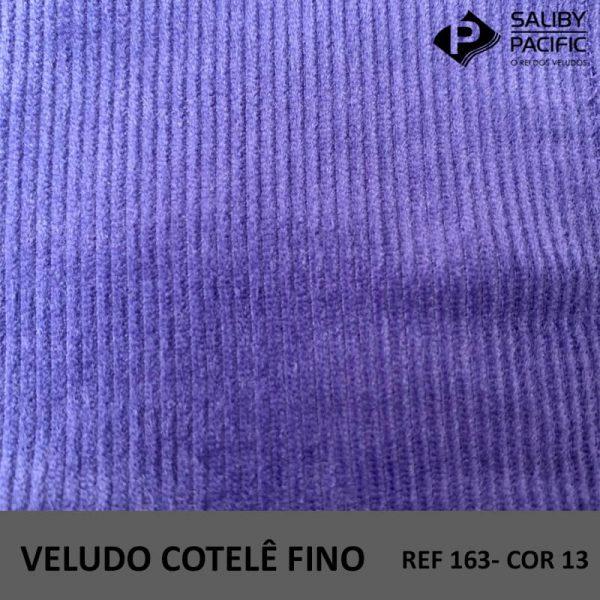 Imagem Veludo Cotelê Fino referência 163 cor 13