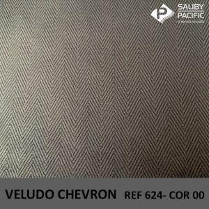 Imagem Veludo Chevron referência 624