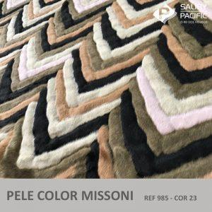 pele color missoni ref 985 na cor 23